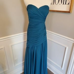 NWT Sample Sale!  Strapless Chiffon Gown